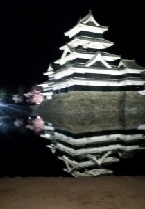 松本城夜桜_04
